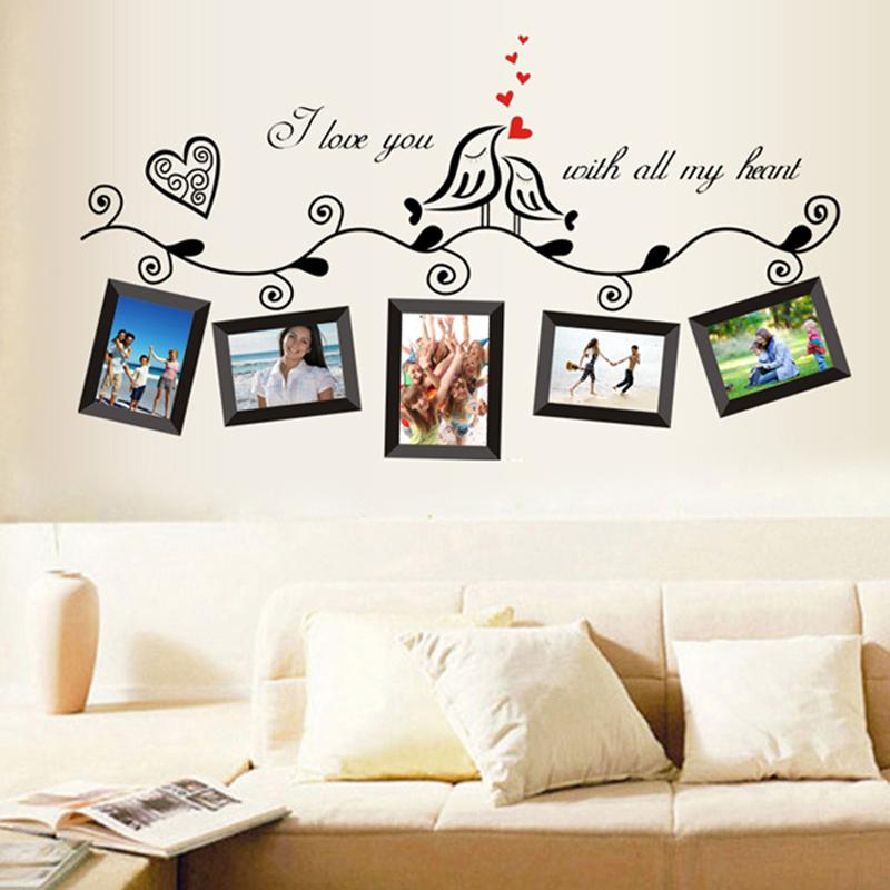 Buy DIY New Creative Bird Wall Art Stickers Vinyl Decals Hom
