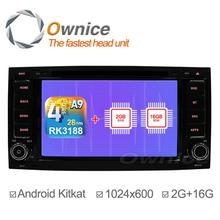 1024*600 Ownice C200 Quad Core Android 4.4 Car DVD Player For Volkswagen VW TOUAREG 2002 2003 2004 2005 2007 2010 GPS 2G/16G(China (Mainland))