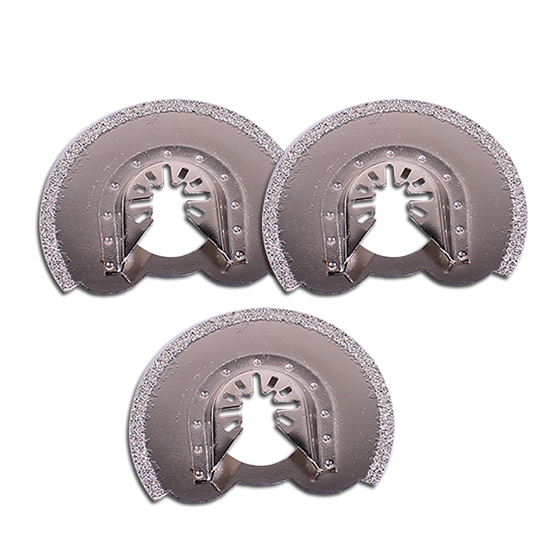 3pcs Half Round Oscillating Tool Saw Blades Accessories Fit for for Multimaster Power Tools<br><br>Aliexpress