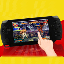 games 8GB 4.3 Inch Handheld Game Player MP5 Video FM radio Camera portable consoles Multimedia classic game
