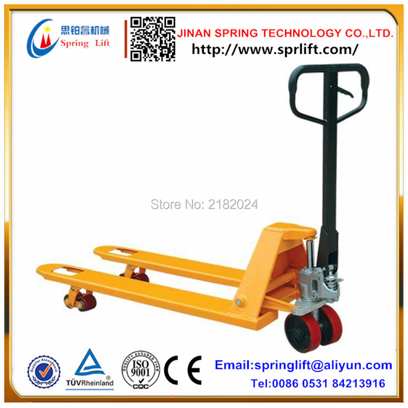 Hot sale 2 ton Hydraulic Hand Pallet Truck 2000Kgs 2500Kg 3000Kg load pallet truck(China (Mainland))
