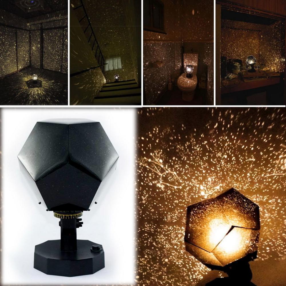 Popular led night light Star Celestial Projector DIY Lamp Night Sky Light For Romantic Party(China (Mainland))