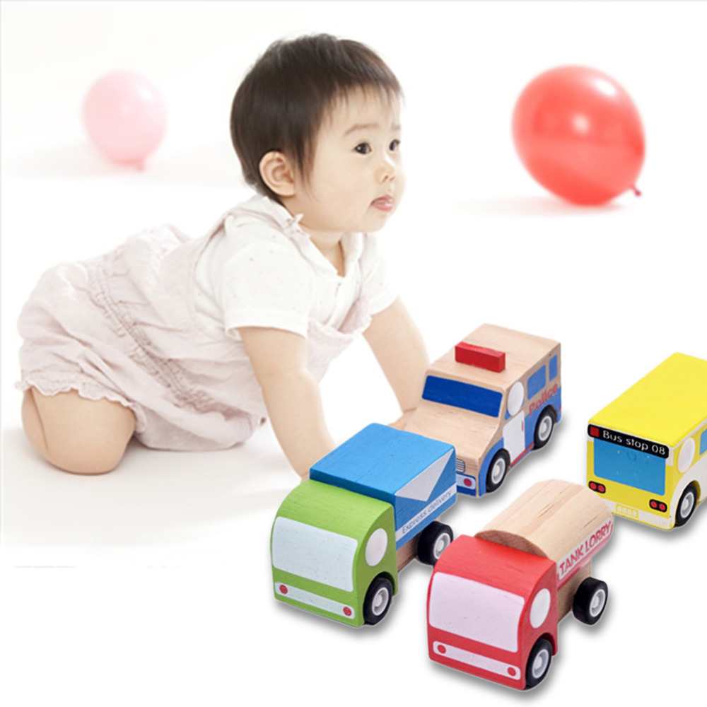 Mini Wooden Car Pull Back Car Multi-pattern Creative Toys Mode Gift Brand free shipping(China (Mainland))