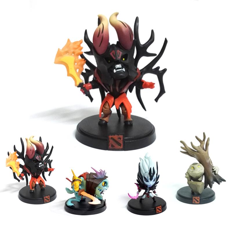 Hot Collectors Edition 4pcs/Set Dota 2 Game Figure SLARK TINY Doom Boxed 8cm PVC Action Figures Collection dota2 Toys F0004<br><br>Aliexpress