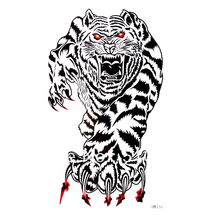 Tiger Tattoo Arm Chest Tiger Arm Waist Back Chest