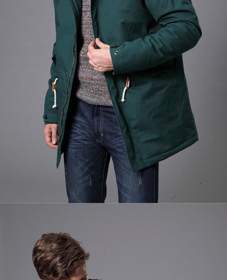 Скидки на анорак мужской пуховик мужской зимний пальто мужское 2016 новый мужской зимнее пальто Мода Куртки толстые теплые ватные Мягкий Хлопок куртка