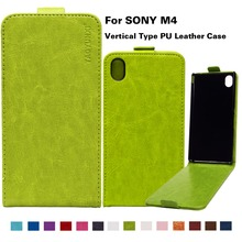 Buy PU Leather Flip Case Cover Sony Xperia M4 Aqua E2303 E2353 E2306 Dual E2333 E2363 E2312 M4Aqua 5.0 inch M4Aqua Holster Shell for $3.78 in AliExpress store