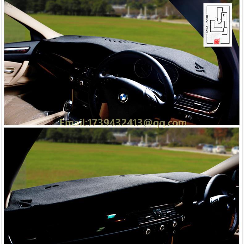 dashmats car-styling accessories  dashboard cover case for BMW 5 series E60 E61 2004 2005 2006 2007 2008 2009 2010  RHD<br><br>Aliexpress