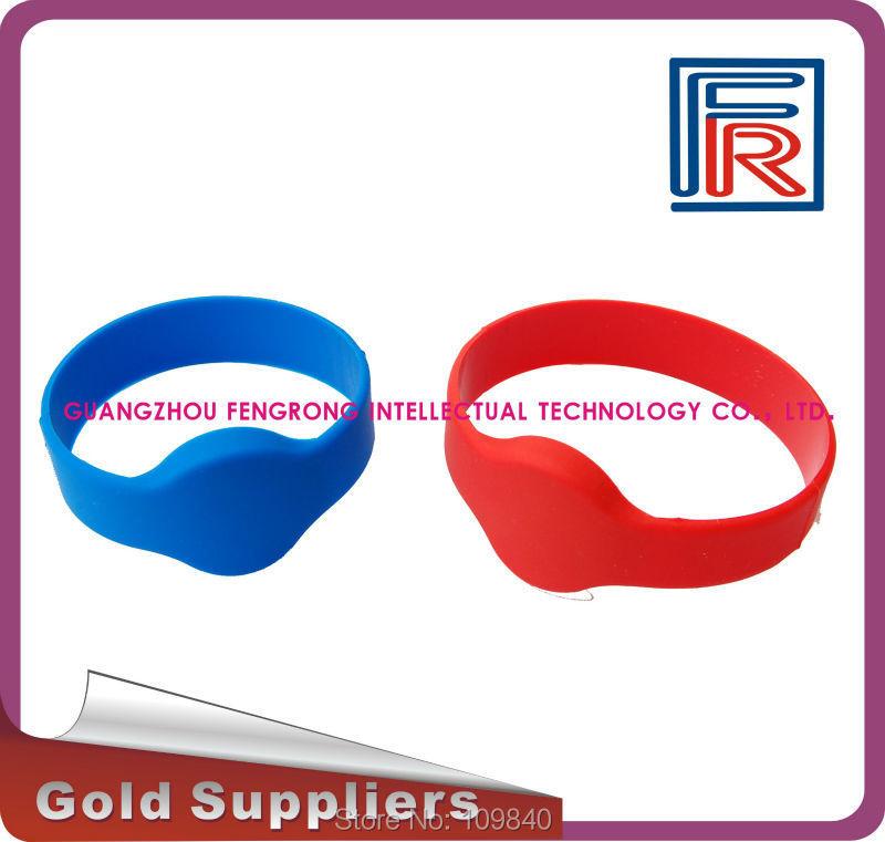 100pcs/lot Fitness club RFID wristband 13.56MHz waterproof Suana bracelet silicone 1K byte<br><br>Aliexpress