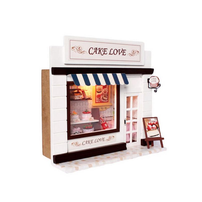 achetez en gros miniature maison kit en ligne des. Black Bedroom Furniture Sets. Home Design Ideas