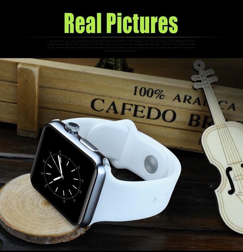 ถูก พารากอนคุณภาพS Mart W Atch DM09สมาร์ทนาฬิกาสนับสนุนซิมการ์ดบลูทูธสำหรับแอปเปิ้ลa ndroidอุปกรณ์สวมใส่PK w8 w90 U8 MOTO 360