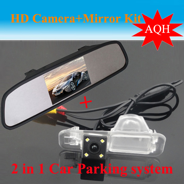 Parking Sensor High Resolution 4.3 Color Tft Car Rear View Mirror Monitor And Ccd Camera for K2 Rio Sedan Parking Assist<br><br>Aliexpress