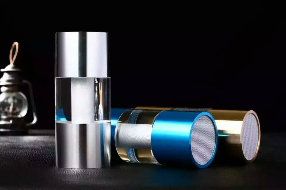 Wireless HIFI Portable Hot sale Luminous Bluetooth speaker card metal SUBWOOFER led Nightlight gift new sound explosion model(China (Mainland))