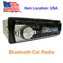 Car Radio Bluetooth Stereo Phone AUX-IN MP3 Player Radios FM USB 1 Din Remote Control For iPhone 12V Car Audio radios para autos(China (Mainland))