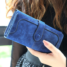Buy Miyahouse Nubuck Leather Wallet Women Luxury Brand Coin Purse Bag Female Clutch Bag Hasp Wallets Long Design Ladies Clutch Purse for $8.21 in AliExpress store