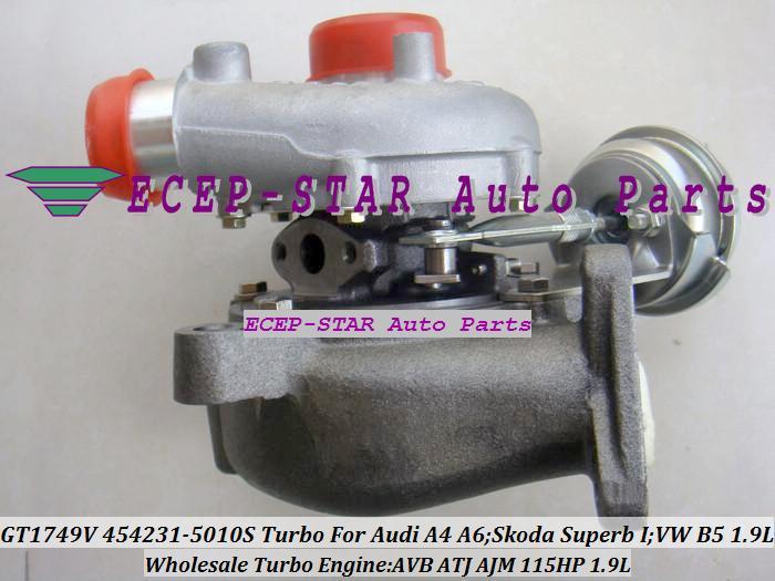 Воздухозаборник ECEP-STAR 454231/0006 454231 VNT 454231/5010s GT1749V Audi A4 A6; ; Volkswagen B5 AVB ATJ 115 . 1,9 turbo k03 53039700029 53039880029 058145703j n058145703c for audi a4 a6 vw passat variant 1 8t amg awm atw aug bfb apu aeb 1 8l