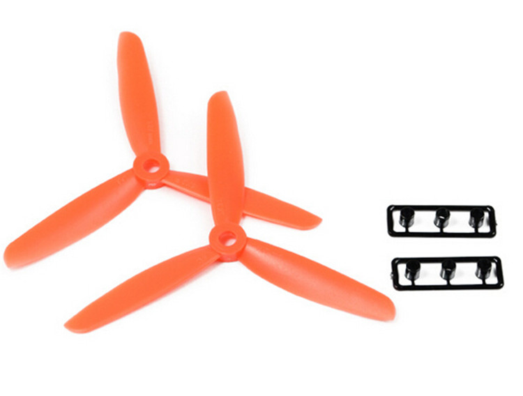 1 pair 3-blade propeller5045 CW CCW oar propellers/5 in/5×4.5/Suitable for quadcopter rc helicopter