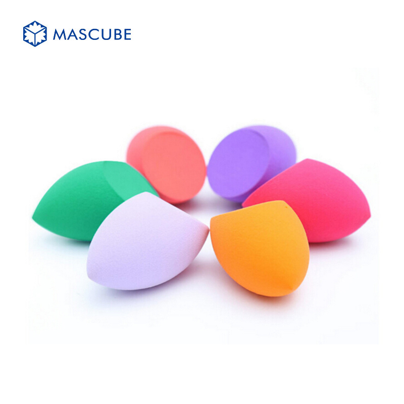 [MASCUBE]Makeup Sponge Blender Foundation Powder Puff Flawless Cosmetic Puffs Makeup Tools Beauty Egg Facial Make Up Sponge(China (Mainland))