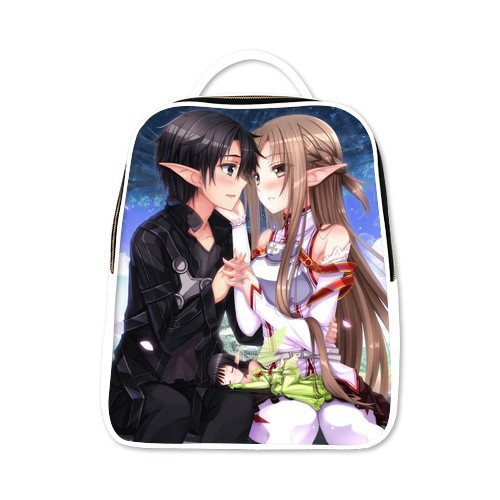 Children School Backpacks Sword Art Online Backpack Fashion Anime Bags Teenagers Boys 6 Colors