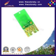 (ARC-0781R) auto reset ARC ink cartridge chip for Epson T0781-T0786 Stylus Photo R280 RX580/RX680/RX595 Artisan50 V6.0 free DHL