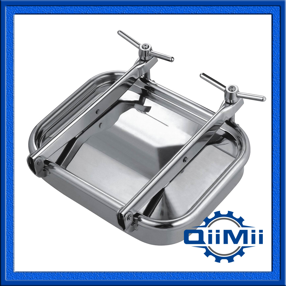 530x430mm Stainless steel rectangular side manway,square manhole cover(China (Mainland))