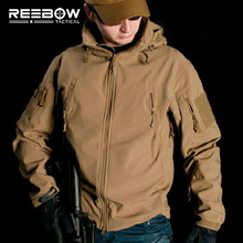 V4.0 Waterproof Soft Shell Tactical Jacket Outdoor Hunting Sports Army SWAT Military Training Windproof Outerwear Coat Clothing(China (Mainland))