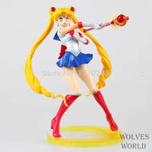 Free Shipping Japanese Anime ZERO Pretty Guardian Sailor Moon Tsukino Usagi 20th Anniversary PVC Action Figure Collection Model