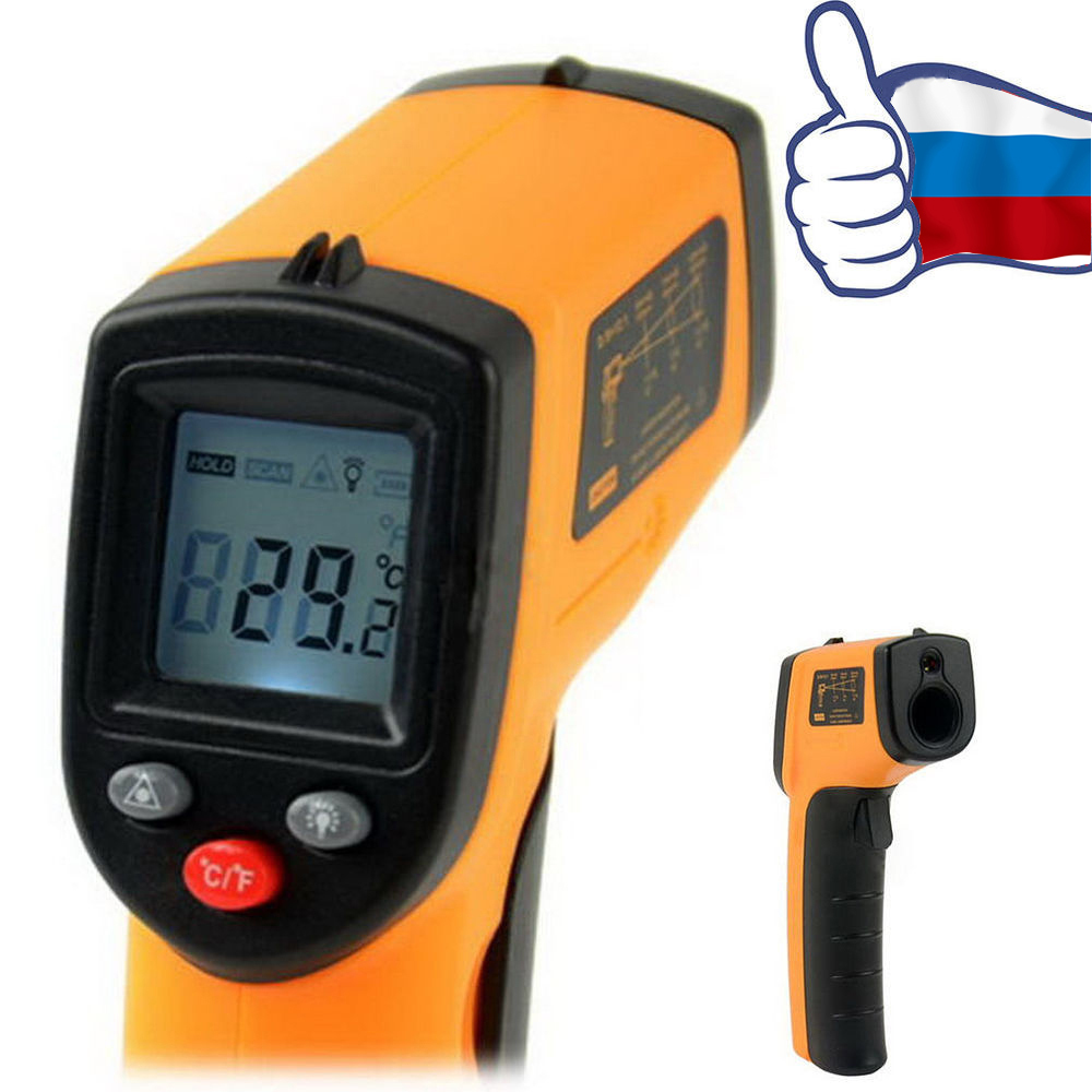Non-Contact LCD IR Laser Infrared Digital Temperature Thermometer sensor Gun Point baby body Electronics Surface GM320 -58~716 F(China (Mainland))