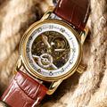 Top Brand ORKINA Automatic Mechanical Watch Men Skeleton Elegant Dress Man s Wristwatches Male Clock Hour