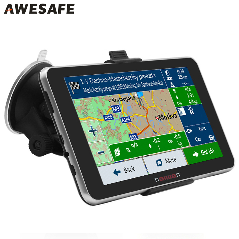 Best 7 inch Android Car GPS Navigation 16GB Bluetooth Quad Core WIFI FM Europe/ Spain/ France gps navigator Russia Navitel map(China (Mainland))