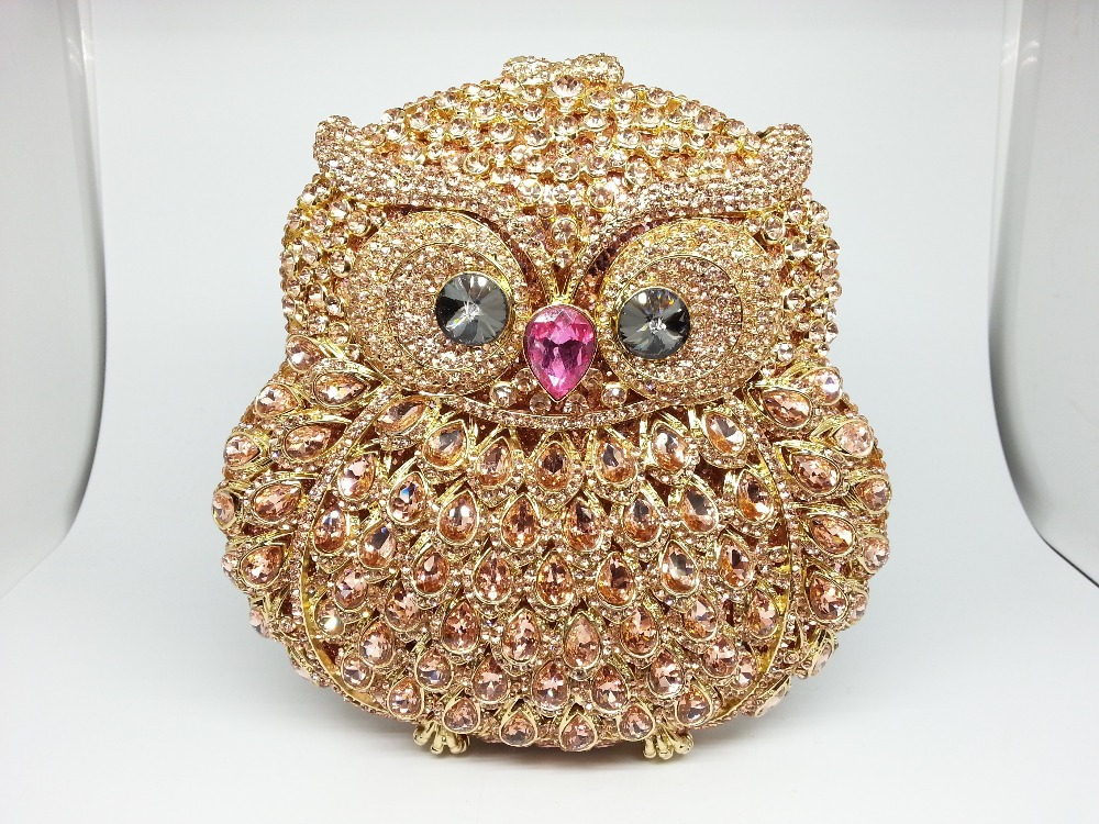 Здесь можно купить  Gift Box Crystal Evening Bags Hard Case Metal Hollow Out Owl Clutch Women Party Wedding Clutches Mini Minaudiere Handbags Purse Gift Box Crystal Evening Bags Hard Case Metal Hollow Out Owl Clutch Women Party Wedding Clutches Mini Minaudiere Handbags Purse Камера и Сумки