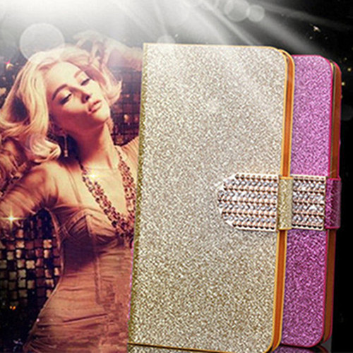 Flip Bling Glitter Leather Phone Case For Apple iphone 3 3G 3GS 4 4S 5 5S SE 6 6S Plus Wallet Back Cover For ipod Touch 4 5 6(China (Mainland))