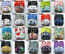 1 U PICK Charcoal Bamboo Baby Cloth Diaper Nappy Washable Reusable,Double Gusset,Square Tabs,18 Choices,3-15kgs(China (Mainland))