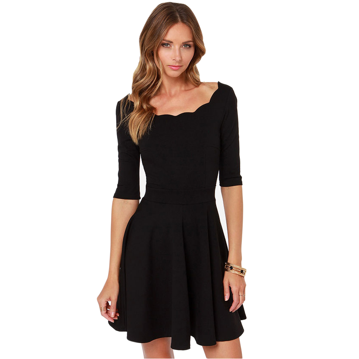 CLASSIC LITTLE BLACK DRESS - Nasha Bendes