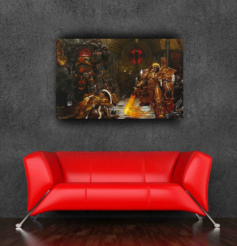 2016 hot selling customized warhammer 40k game wall sticker poster walls decoration 60x90cm,24x36Inch - Bang&Wil Canvas and Poster Store store