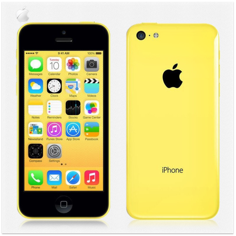 "Original Apple iPhone 5C 32GB Factory Unlocked IOS 8 Dual-Core 4.0"" IPS 8MP 1080P 3G WCDMA GPS WIFI Mobile Phone USED(China (Mainland))"