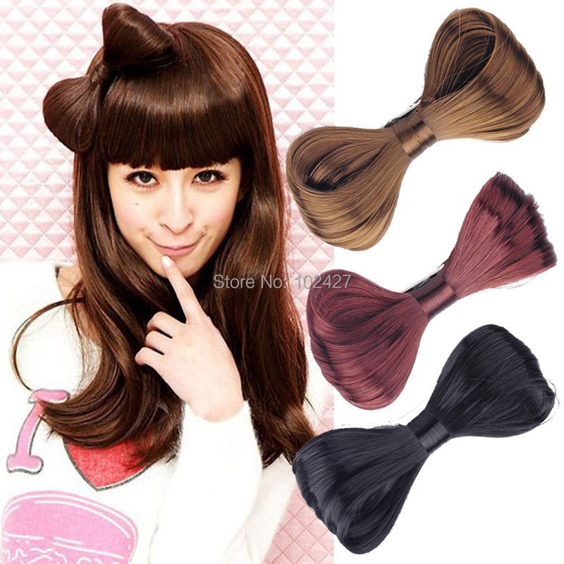 Hot Selling Fashion Womens Hair Bow Bowknot Wig Clip Party Hairpins Accessories Women Decor 4 Colors - Mixlot Store store