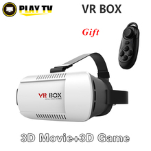 [Genuine] Google cardboard virtual reality  VR BOX 3D Glasses & Bluetooth Wireless Mouse Remote Control movies Games