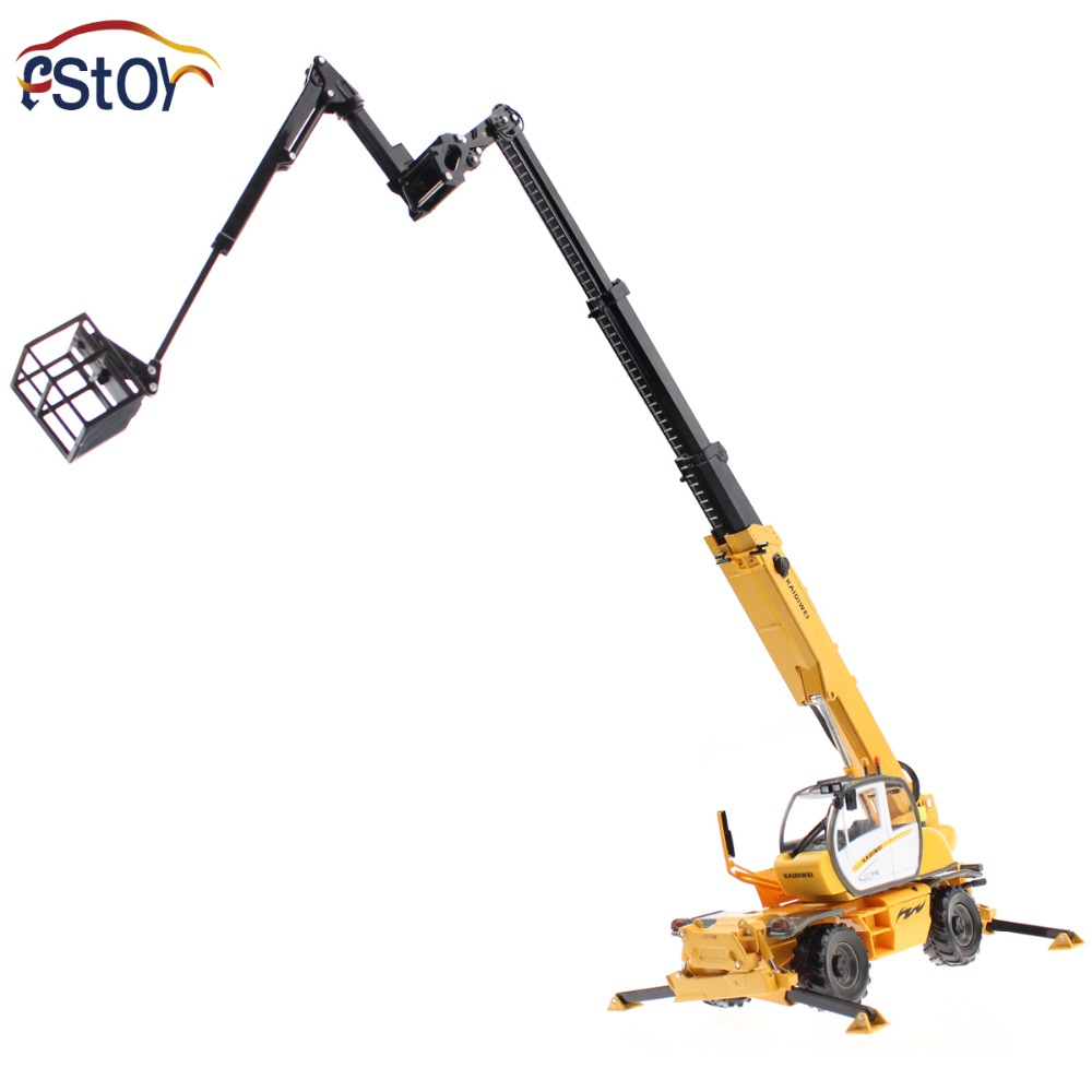 Alloy diecast Crane truck Model 1:50 multifunction hoist mini scale engineering vehicle Collection gift Toy(China (Mainland))