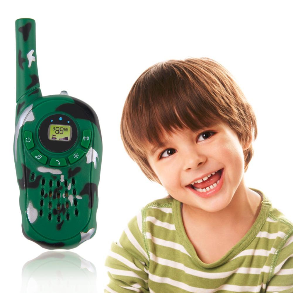 New Arrival ! 2Pcs Walkie Talkie Children Kids Electronic Toys Portable Two-Way Radio Set(China (Mainland))