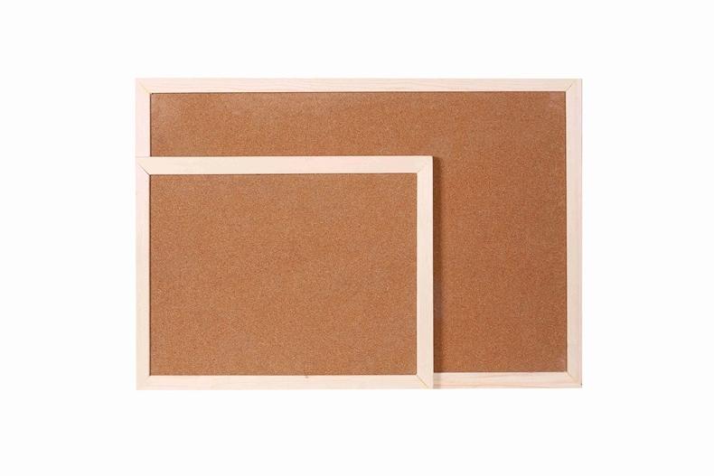 Houten frame kurk boord bericht 11 x 17 cm in grootte 30x45cmkader mdf van bulletin board op - Kantoor houten school ...