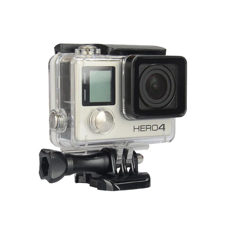 GoPro Waterproof Housing Case For Hero4 Hero3+ Plus Standard Underwater Waterproof Protective Case For Go Pro 4/3+ Accessories<br><br>Aliexpress
