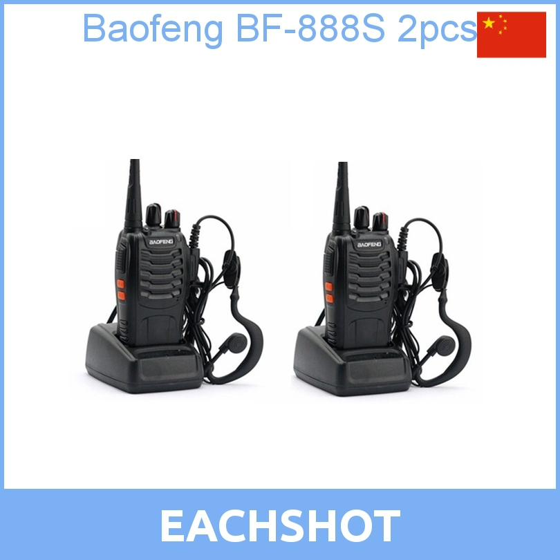 2013 new Cheap Walkie Talkie BF-888s 5W 16CH UHF 400-470MHz BF-888S Interphone BaoFeng 888S Two-Way Radio - EachShot Photo Equipment Co.,Ltd. store
