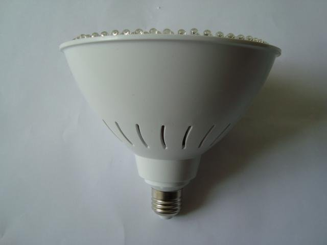 12W led spot light,E27 base;216pcs 5mm DIP LED; white color