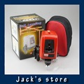 Freeshipping 3 Line 3 dots A8827D better than ak455 360degree Self leveling Cross Laser Level Red