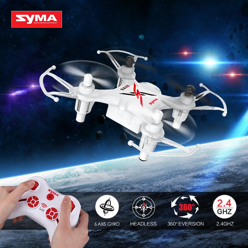 2016 New Syma X12S 4CH 6-Axis Gyro RC Plane Professional Drones RC Quadcopter Mini Drone RTF Flysky 360 Degree Cool Flip(China (Mainland))