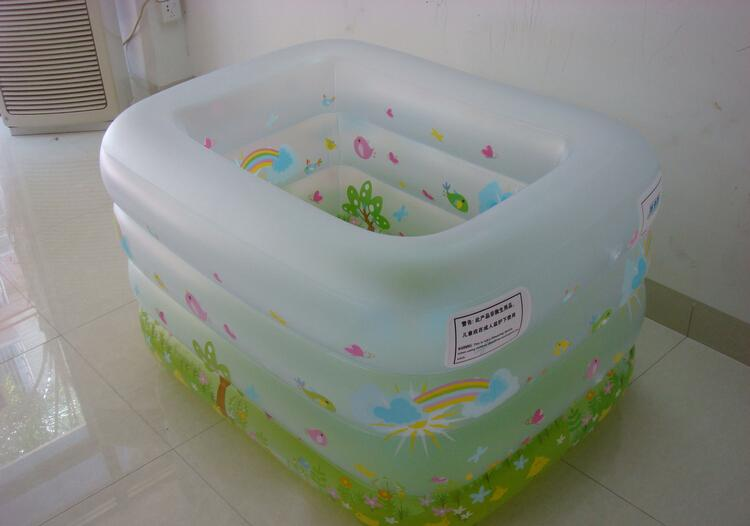 Home children's inflatable swimming pool home large oversized pool thickened leisure pool adult bathtub(China (Mainland))