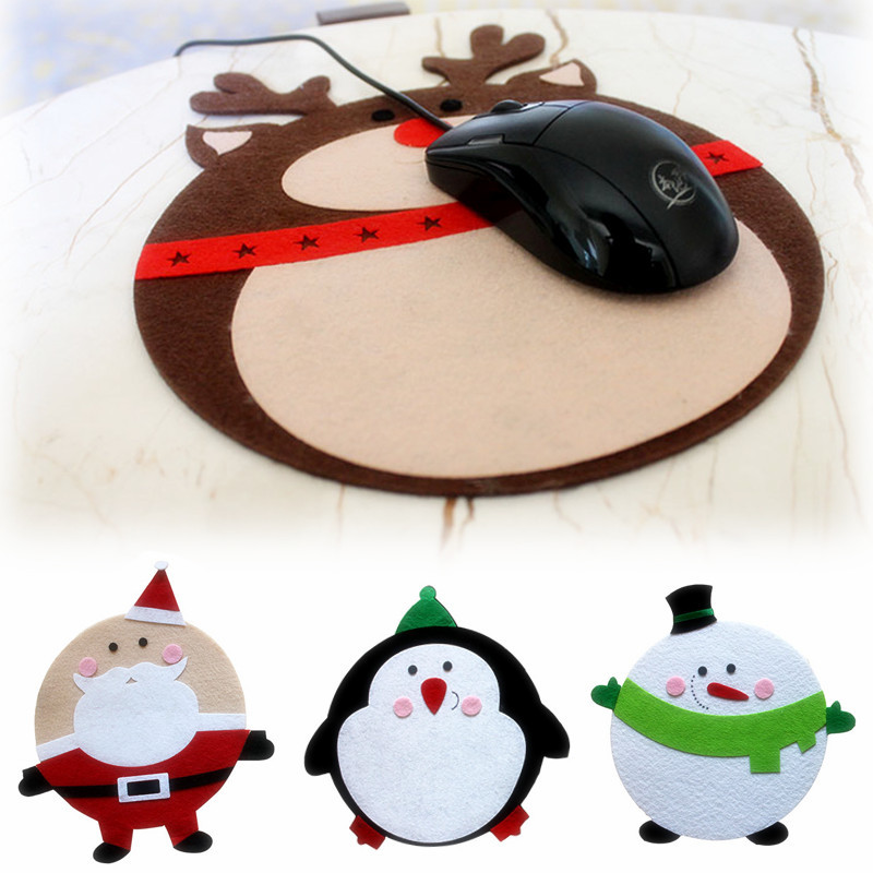 New Christmas decorations Santa Claus Pads computer mouse pad Christmas gifts Laptop PC mouse mat(China (Mainland))