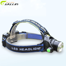 Rechargeable Headlights Head Lamp Spotlight Camping hiking mountain climbing fishing in search of adventure head lamp + Charger