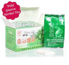 Funlife Tea-2g*20pcs/Box Free Shipping!High Quality 100% Pure Natural Organic Guava Tea Health Teabag Control Diabetes herbal044